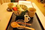 王道、抹茶クリームあんみつ750円