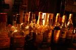 貴重なウイスキーの数々