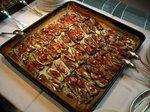アナスタシアブラックのオーブン焼き。生ハム、セージとオリーブオイル♪